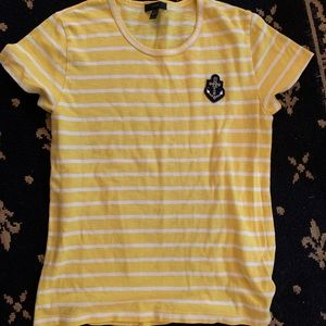 J. Crew T-Shirt with Anchor (NWOT)!